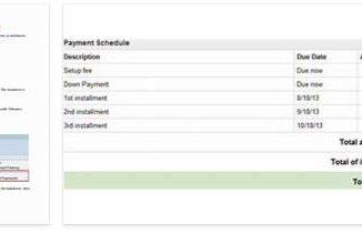 Installment Payments 3